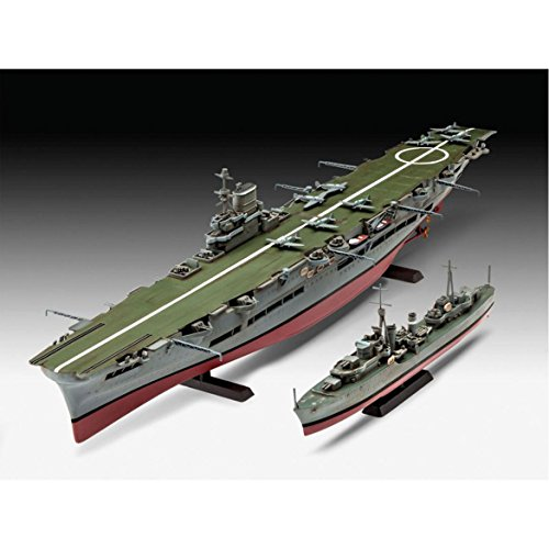 Revell of Germany Hms Ark Royal & Tribal Destroyer Hobby Model Kit by Hobbico Inc