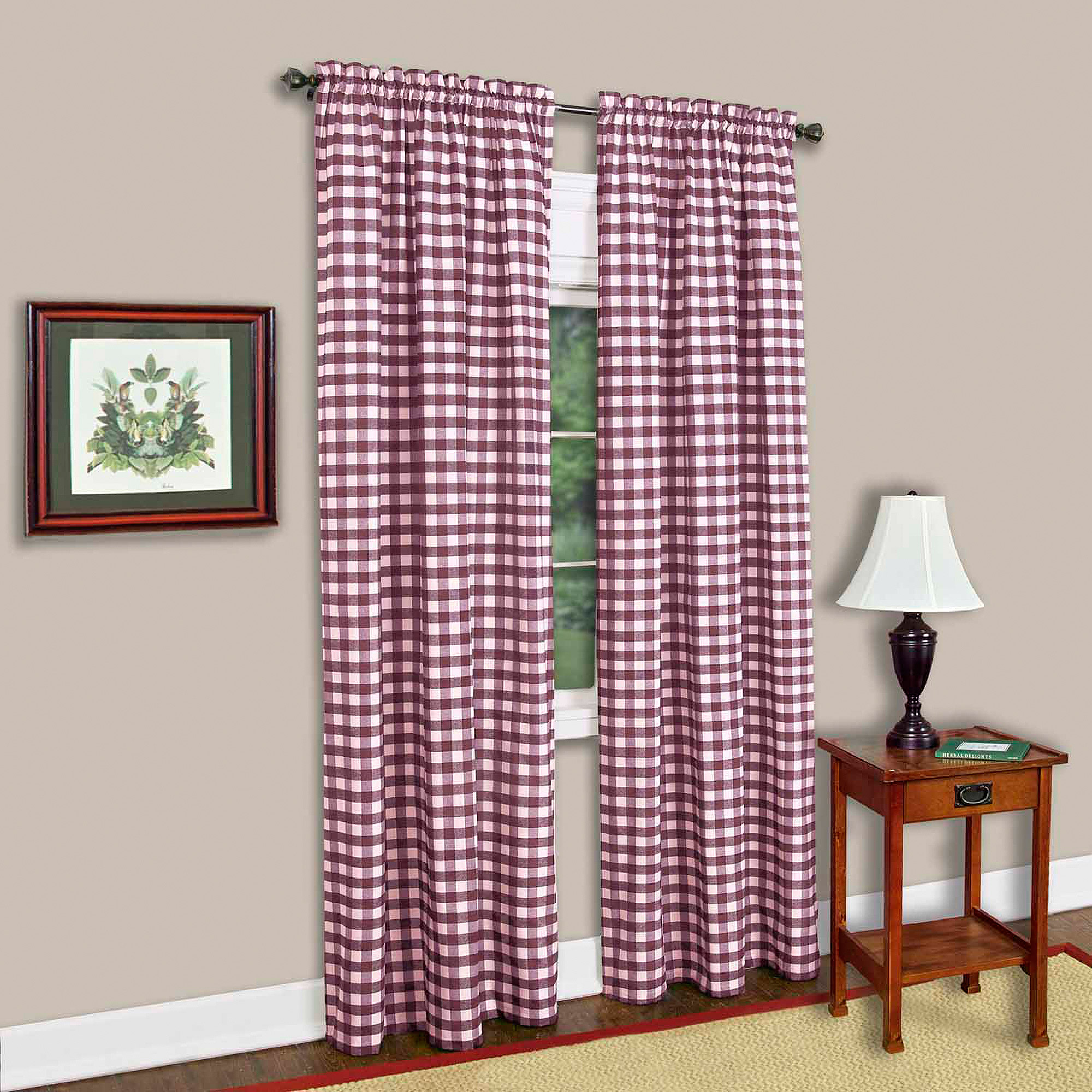 Buffalo Checkered Curtain Panel