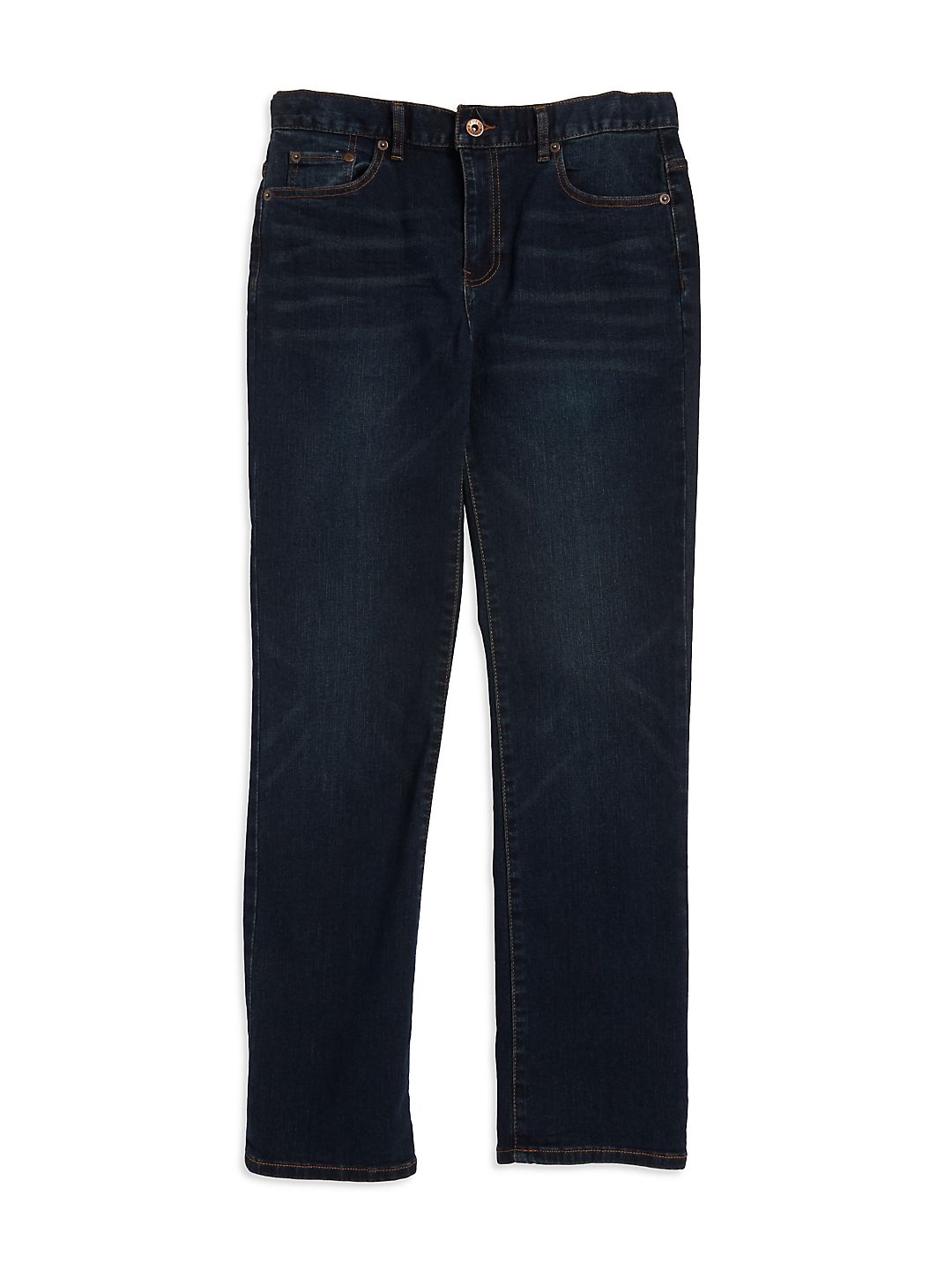 Boy's Faded Straight Jeans