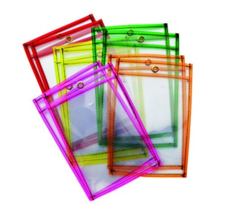 Pack of 25 Magnetic Dry Erase Labels - 4