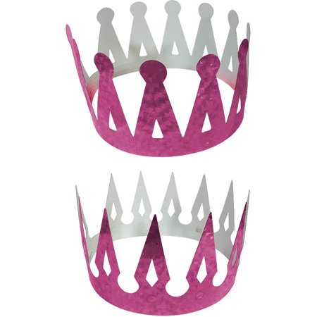 Renaissance Medieval Fantasy King Set Of 2 Purple Crowns Costume Accessory - Renaissance Medieval Clothing