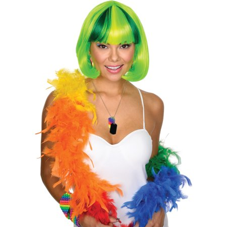 Women's Party Cutie Green Wig Costume - Short Green Wig
