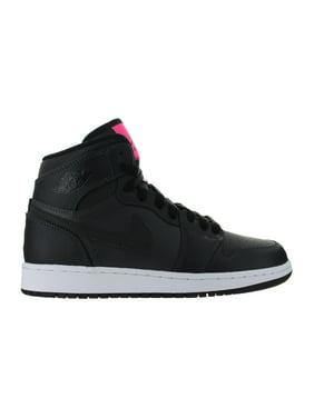 Product Image Kids Air Jordan 1 Retro High GS Anthracite Hyper Pink Black  332148-004 e84b3bd4f2