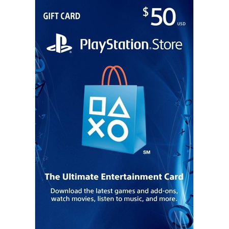 50 00 Playstation Store Card