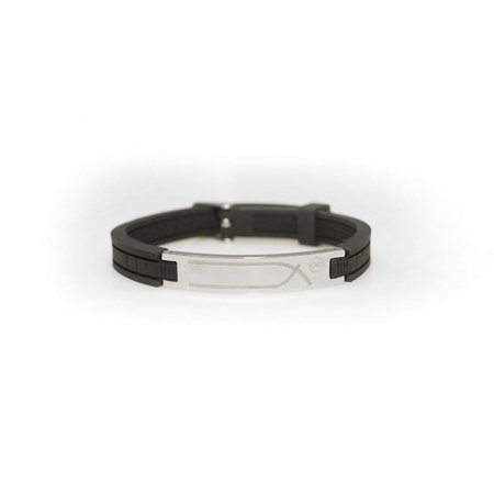 Carbide Magnetic Bracelets (Magnetic Energy Bracelet - Negative Ion Balance Power (Black))