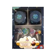 Multicraft Deluxe Cupcake Box 24pc Outer Space