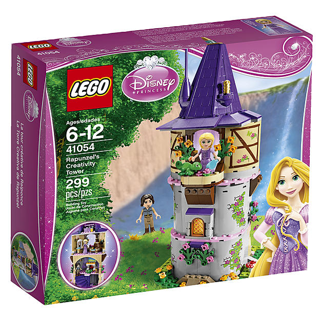 LEGO Disney Princess Rapunzel's Creativity Tower Building Set