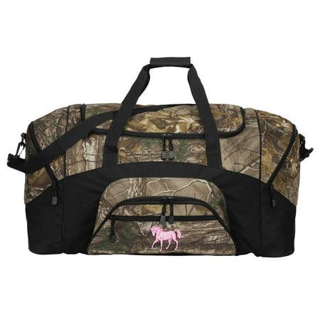 113153ebcdb Broad Bay Camo Horse Duffle Bag Or RealTree Camo Cute Horse Gym Bag -  Walmart.com
