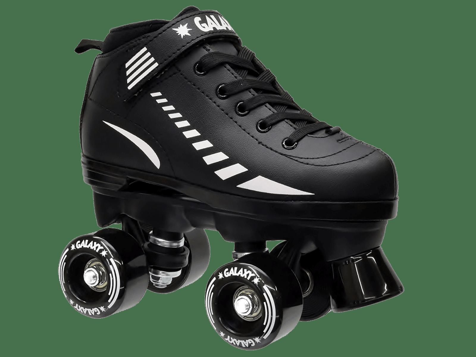 Epic Galaxy Elite Black Quad Roller Skates Package by Epic Skates