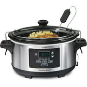 Hamilton Beach Set 'n Forget 6-Quart Slow Cooker