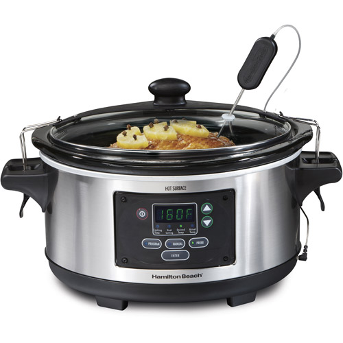 Hamilton Beach Set 'n Forget 6 Quart Slow Cooker | Model# 33969