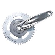 """Sun Replacement Crankset for Pro 244A - 170 x 42, 3/32"""", Silver"""