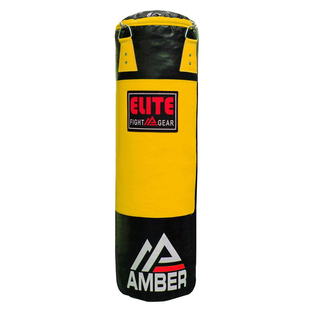 Amber Elite Strikeforce Heavybag Monochrome 50lbs Unfilled