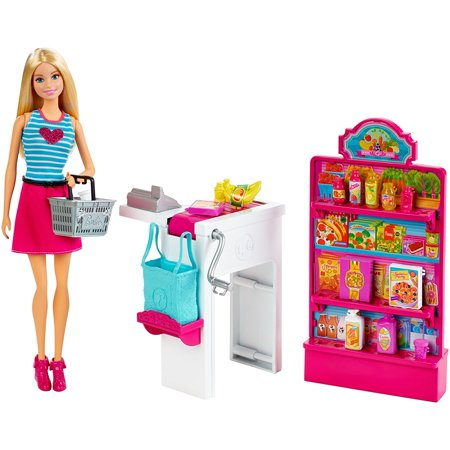 Malibu Ave Grocery Store with Doll Playset, Some of the best shops are on Malibu Ave, where Barbie knows she can find anything she needs! By (The Best Department Store)