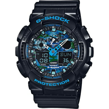G-Shock Black and Blue Ana-Digi Sports Watch