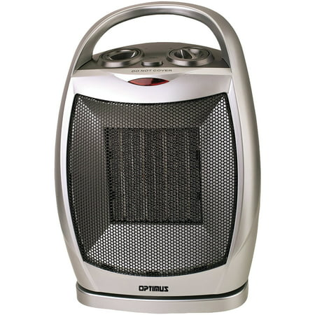Optimus Portable Oscillating Ceramic Heater With Thermostat OPSH7247 (Holmes Eco Smart Energy Saving Portable Heater)