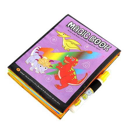 New amusing Magic Water Drawing Book Coloring Book Doodle Magic Pen Animals Painting](Magic Coloring Book)
