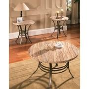 Ellen Faux Marble 3-Pc Occasional Table Set