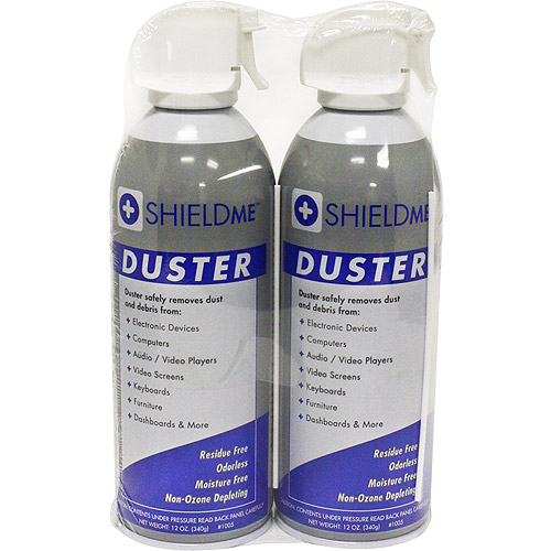 Shieldme Duster, 12 oz, 2-Pack