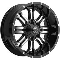 "20"" Inch TIS 535MB 20x9 6x135/6x139.7(6x5.5"") +18mm Black/Machined Wheel Rim"