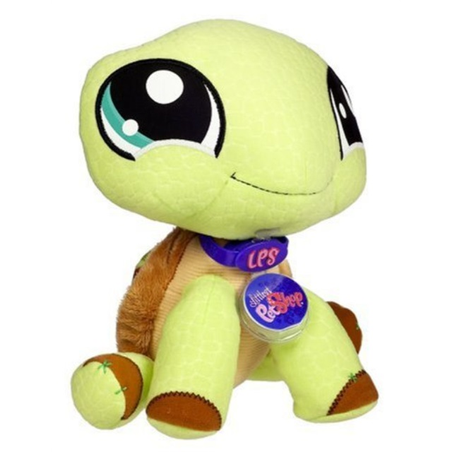 Littlest Pet Shop Virtual Interactive Pet Turtle Plush
