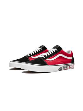 2eabc9eb7 Product Image Vans VN-0A38G1VRH  Unisex Old Skool OTW Sidewall Black Racing  Red Skate Sneakers