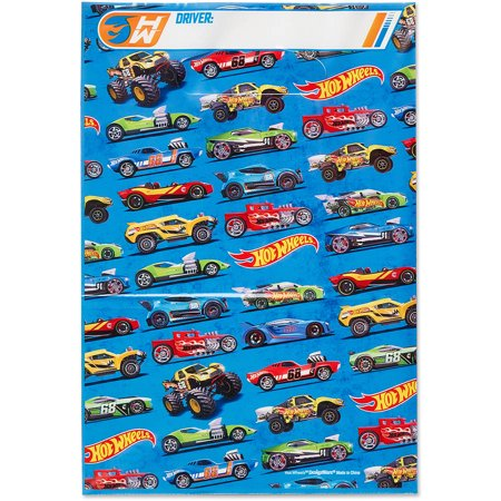 Hot Wheels Party Favor Treat Bags, 8ct - Hotwheels Party