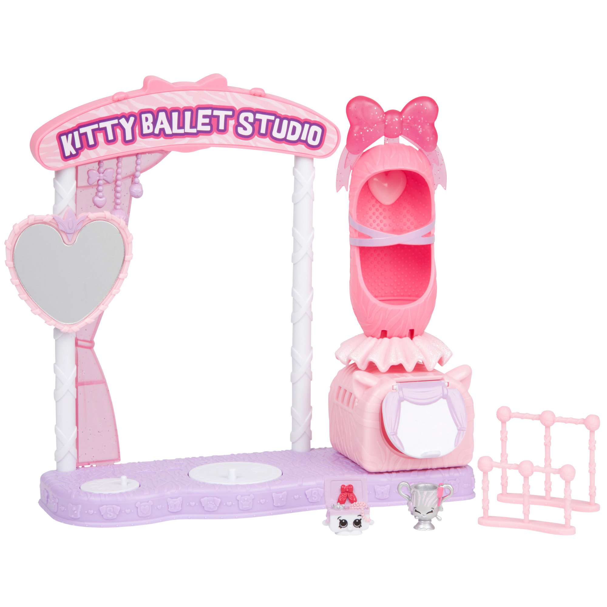 License 2 Play - Shopkins Series 9, Kitty Ballet Playset