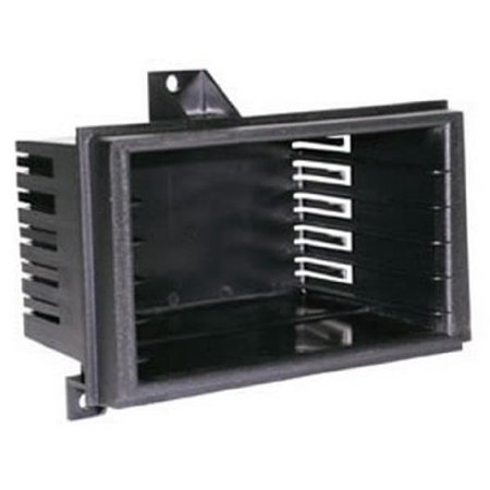 Dash Kit for 1989-1994 GM Optional Storage Pocket, Storage pocket with 5 CD Slots or 6 Cassette openings By Scosche