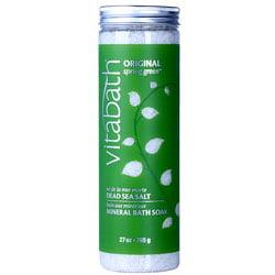Vitabath Original Spring Green Dead Sea Salt 27oz