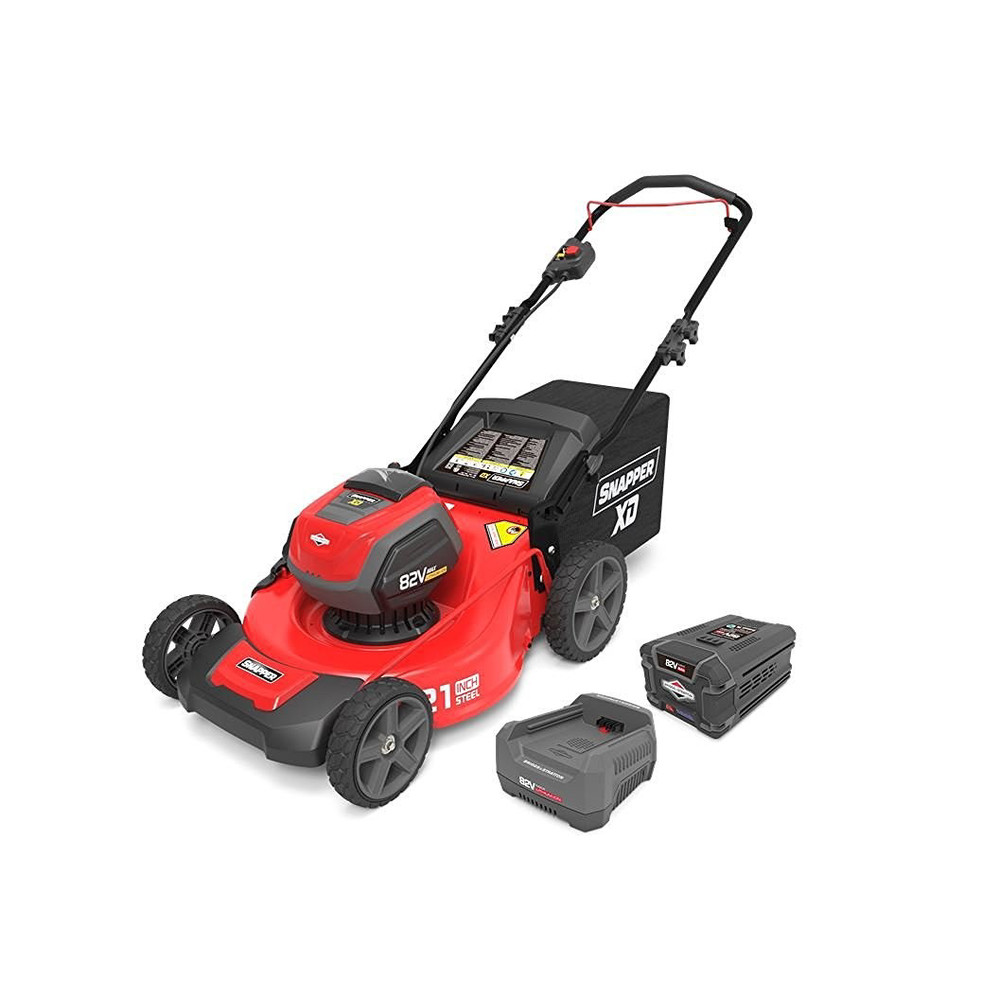 Snapper 1687884 82V Cordless Lithium-Ion 21 in. Walk Mower Kit with 2.0 Ah Battery & Rapid Charger