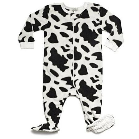 leveret boys footed fleece sleeper pajama (size 6m-5 years)