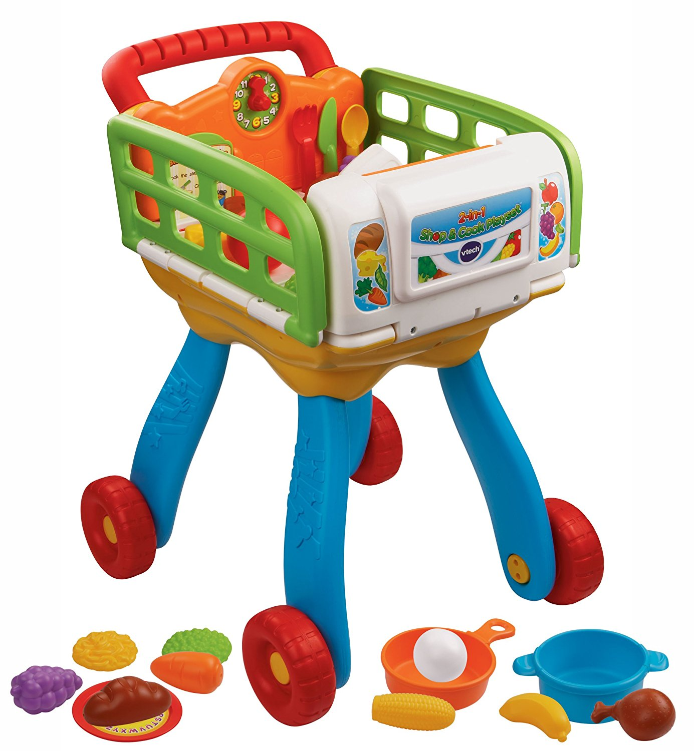 VTech 2-in-1 Shop and Cook Playset by