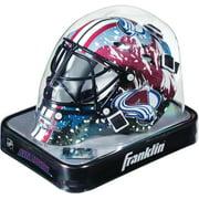 Colorado Avalanche Unsigned Franklin Sports Replica Mini Goalie Mask - Fanatics Authentic Certified