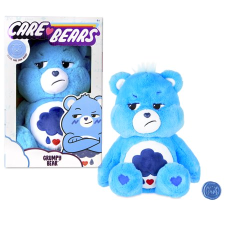 """NEW 2020 Care Bears - 14"""" Plush - Grumpy Bear - Soft Huggable Material!"""