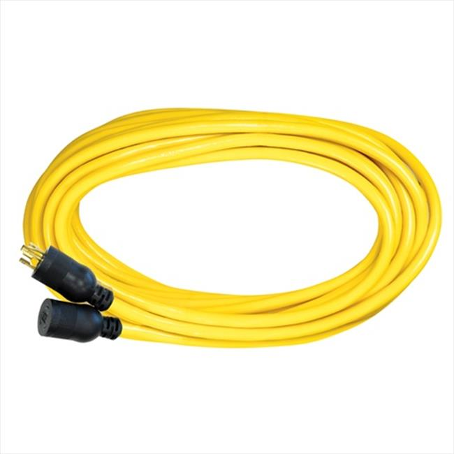 Voltec 06-00168 100 ft. STW Yellow Locking Extension Cord, Case Of 2