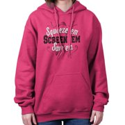 Squeeze Em Screen Save Breast Cancer Awareness Shirt | Pink Hoodie Sweatshirt