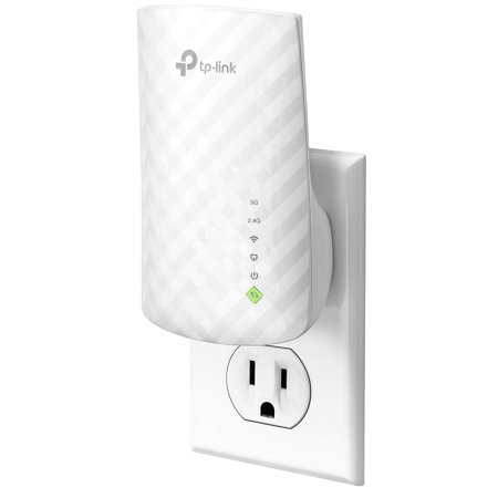 TP-Link AC750 Dual Band WiFi Range Extender, Repeater, Access Point w/Mini Housing Design, Extends WiFi to Smart Home & Alexa Devices (RE200) (Renewed)