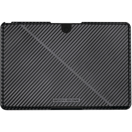 Body Glove - Stripes Case for BlackBerry PlayBook - Black