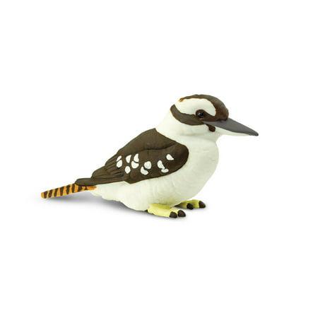 Kookaburra Animals (Wings of the World Birds Kookaburra Safari Ltd Animal Educational Toy Figure )