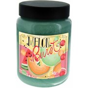 LANG Melon Burst 26-Ounce Jar Candle, Scented with Fresh Slices of Watermelon, Cantaloupe and Honeydew