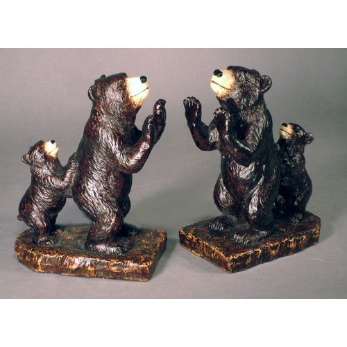 Judith Edwards Designs Bear Bookends (Set of 2)