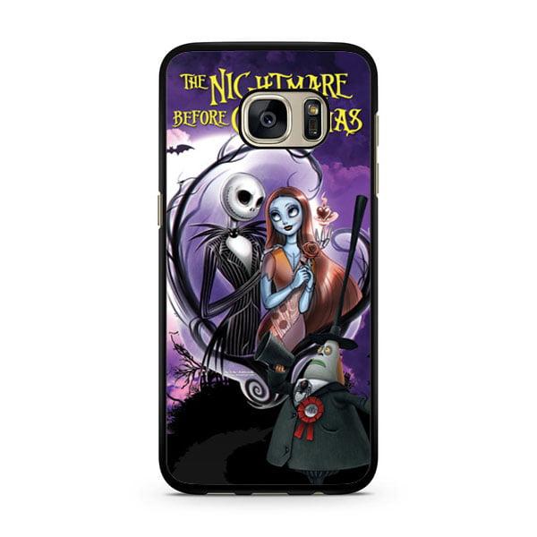 Nightmare Before Christmas Jack Sally Galaxy S7 Edge Case