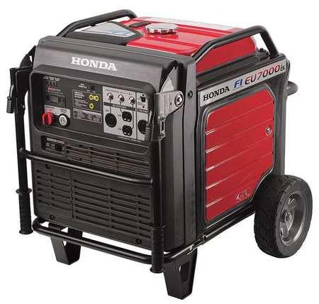 HONDA 5500W Gas Inverter Generator 120/240V Electric/Reco...
