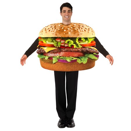 Hamburger Tunic Costume Adult Men Standard