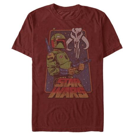 Star Wars Men's Vintage Boba Fett Frame T-Shirt](Boba Fett Dress)