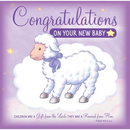 Congratulations on your new baby greeting card walmart congratulations on your new baby greeting card m4hsunfo