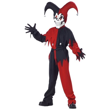 Evil Jester Costume - Medium, By Totally Ghoul for $<!---->