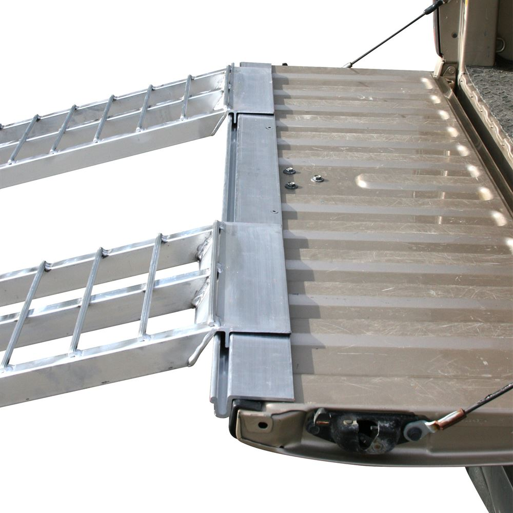 "60"" Loading Ramp Attaching Lip Bracket for Truck & Trailer Beds"