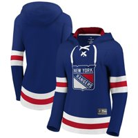 New York Rangers Fanatics Branded Women's Franchise Pullover Hoodie - Blue